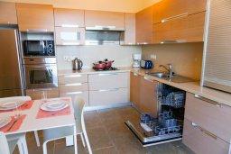 Кухня. Кипр, Коннос Бэй : Современная вилла с патио и видом на море, 5 спален, 5 ванных комнат, парковка, Wi-Fi