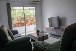 Гостиная. Кипр, Центр Лимассола : Апартамент с гостиной, двумя спальнями и балконом