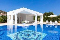 Бассейн. Кипр, Пейя : Роскошная вилла с бассейном и зеленой территорией, 7 спален, 6 ванных комнат, барбекю, джакузи, парковка, Wi-Fi