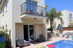 Фасад дома. Кипр, Пернера : Прекрасная вилла с бассейном и двориком с барбекю, 3 спальни, 2 ванные комнаты, парковка, Wi-Fi